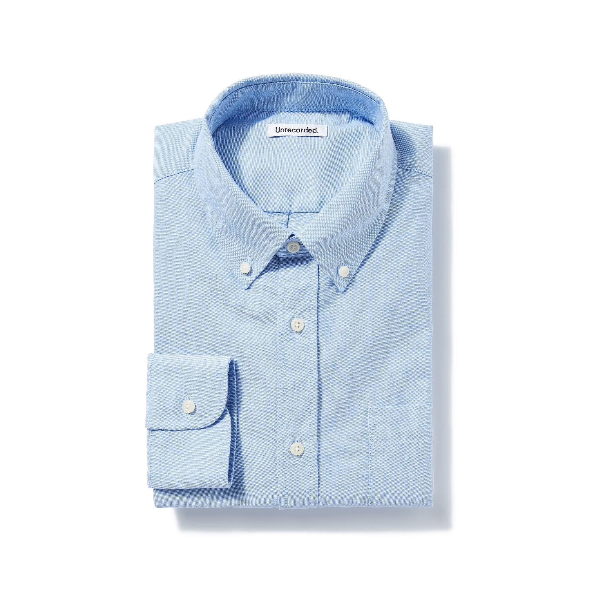 Oxford Shirt in Light Blue made from Organic Cotton