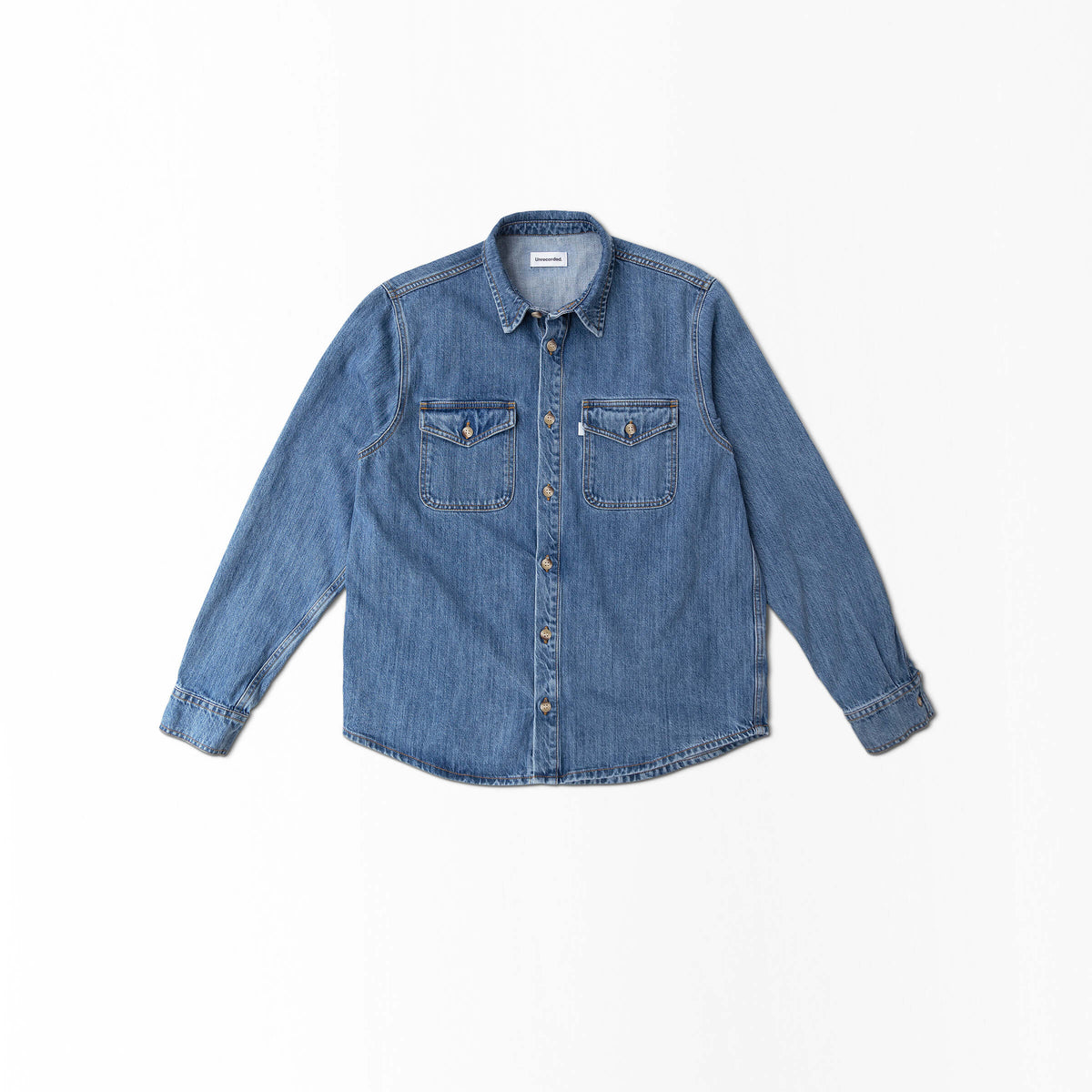 Denim Shirt made from Organic Cotton - Alternate Men - Front Women