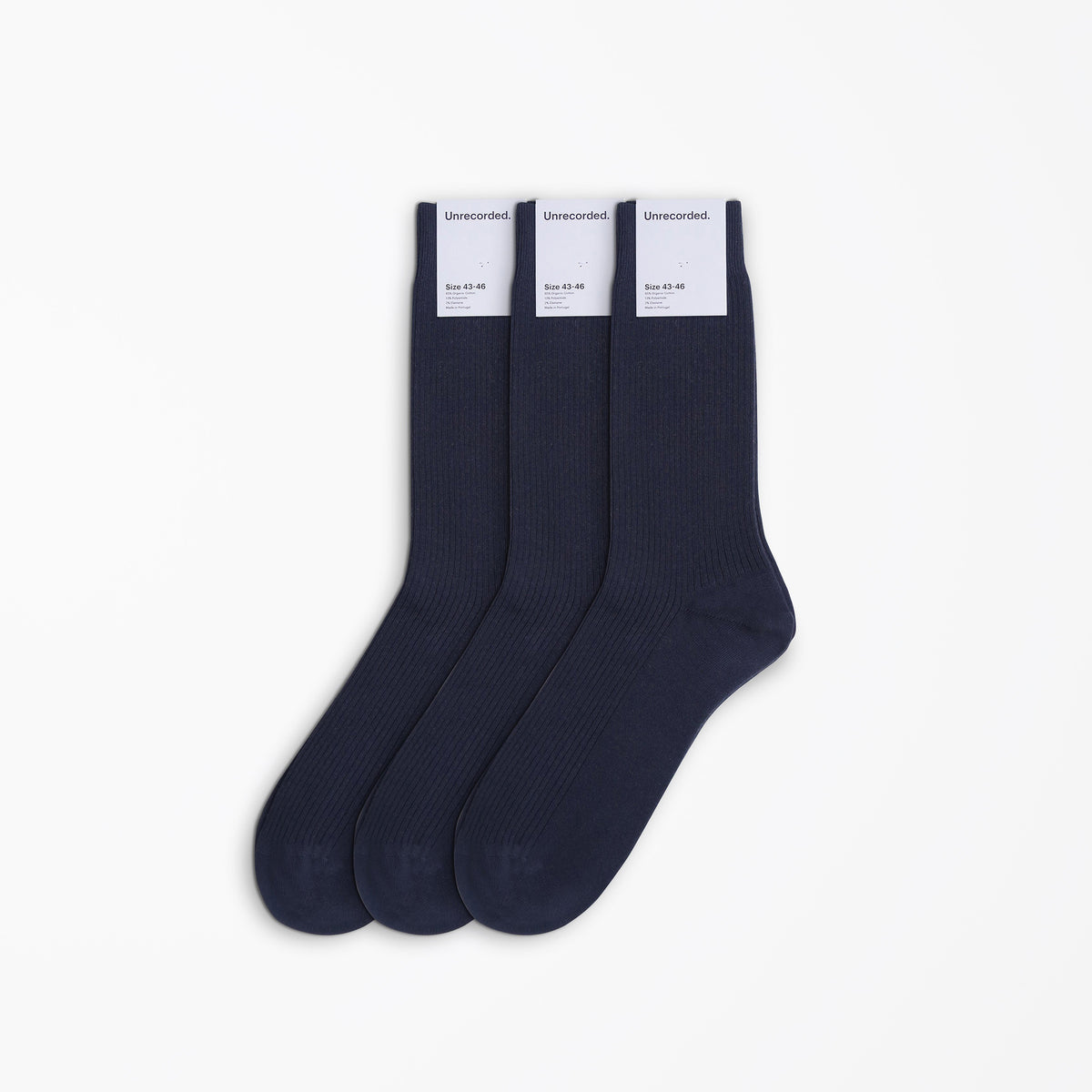 Socks Triple Navy