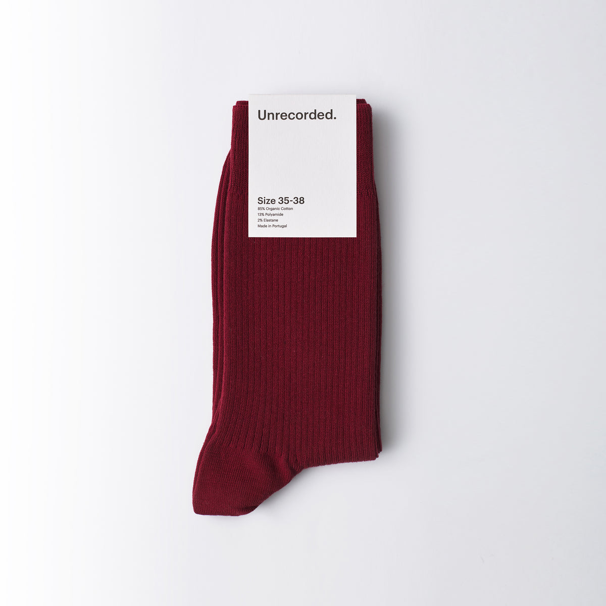 Socks Red - Unrecorded
