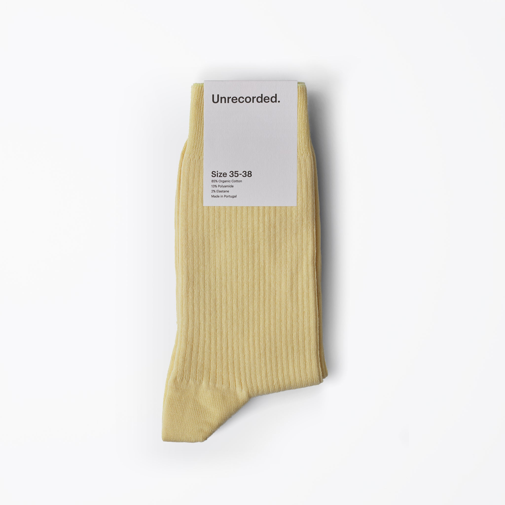 Socks Yellow - Unrecorded