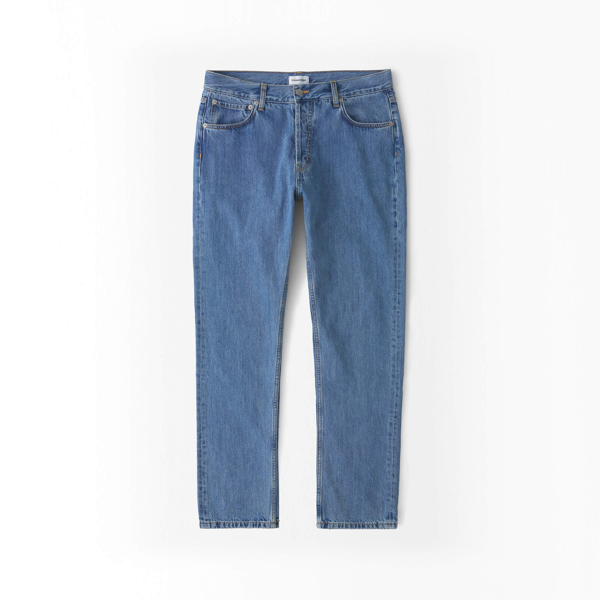 Straight Jeans in Denim made from organic cotton - Alternate
