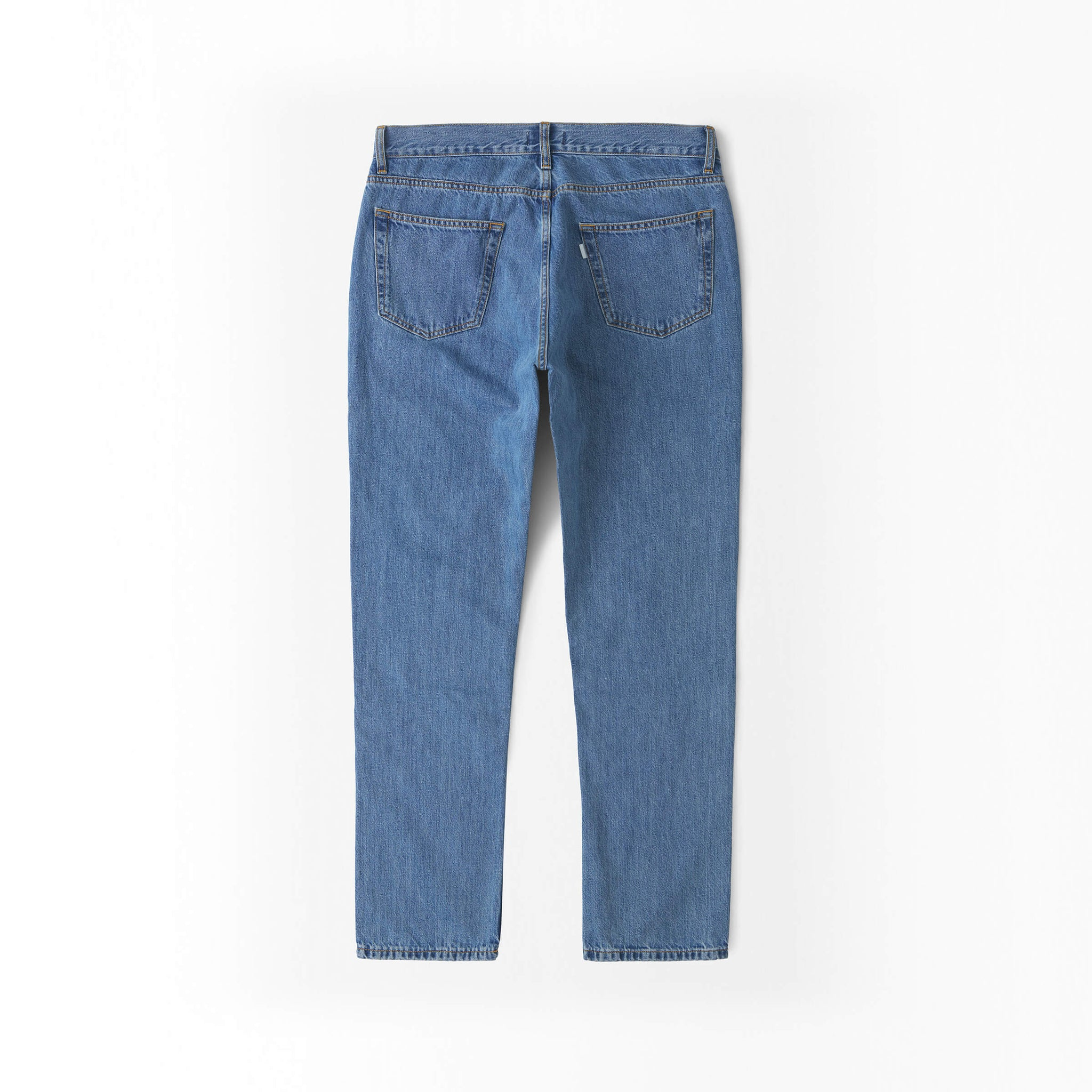Straight Jeans in Denim made from organic cotton