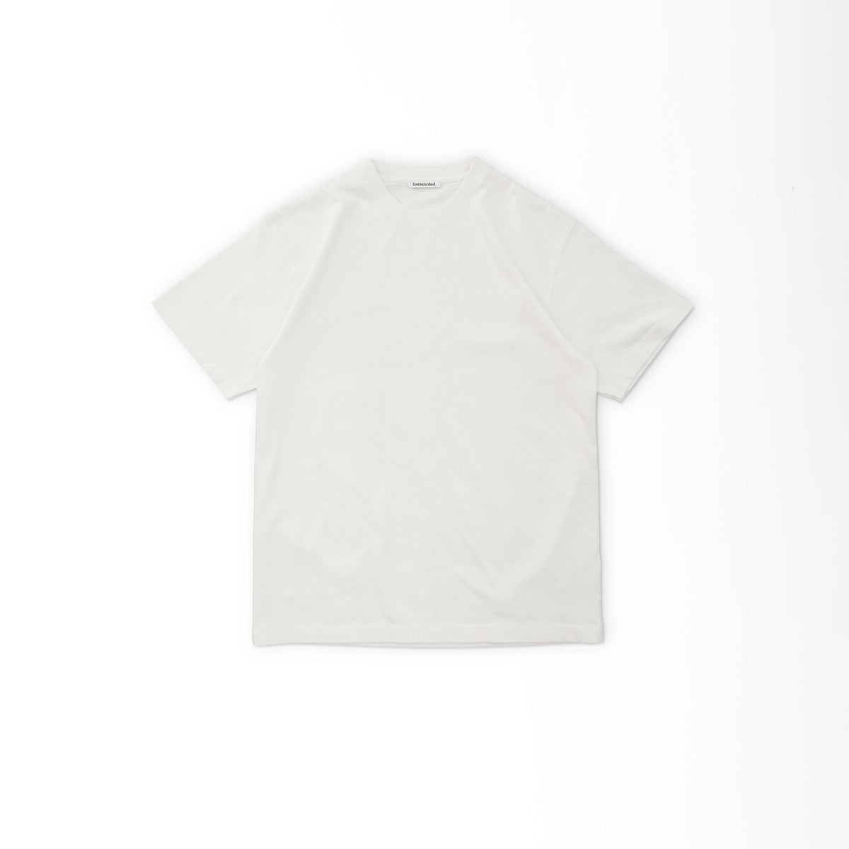 T-Shirt 220 GSM in Off-White made from organic cotton - Front Women