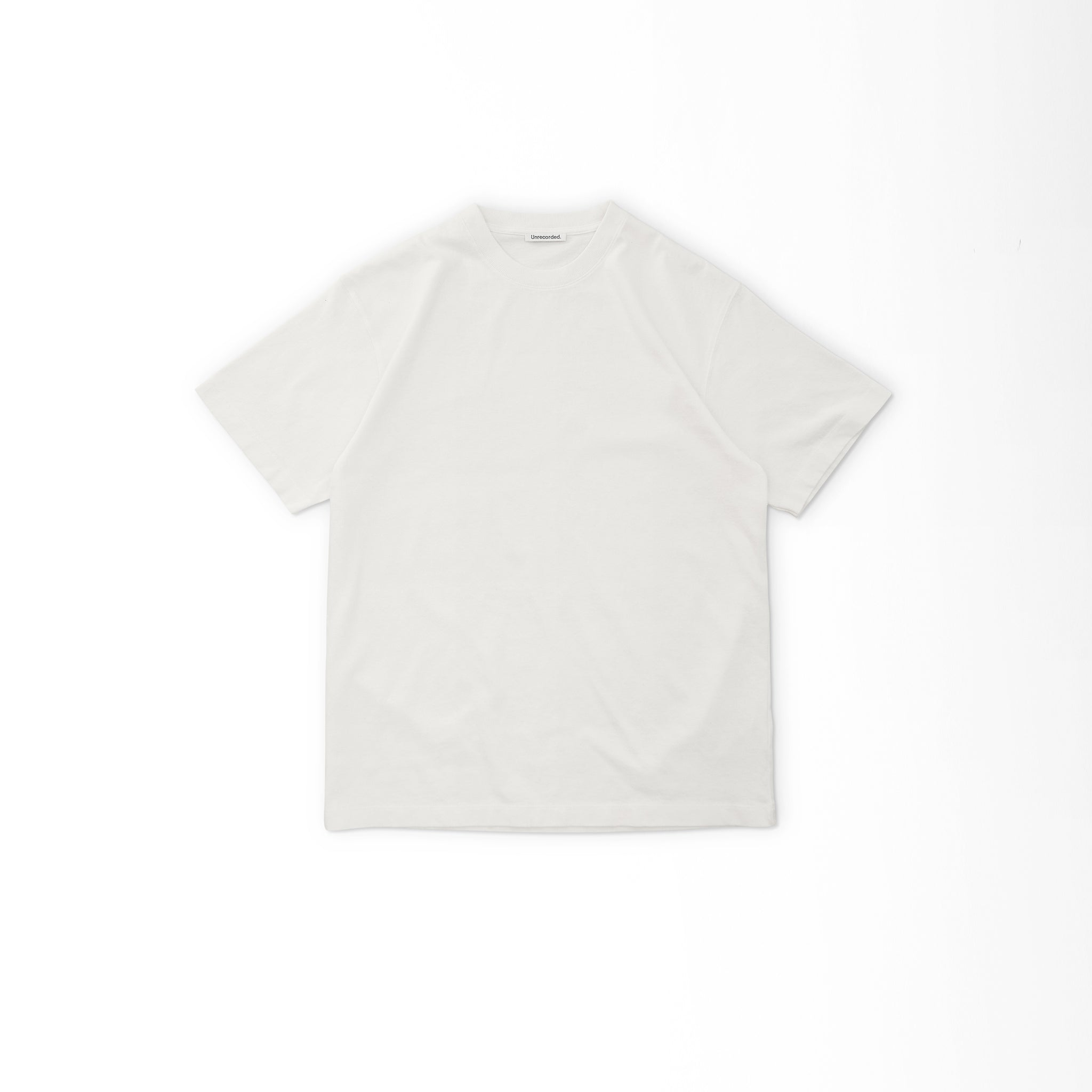 T-Shirt 220 GSM in Off-White made from organic cotton