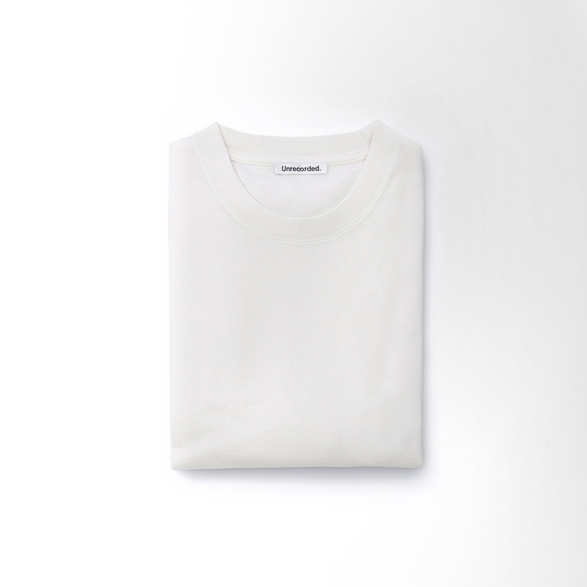 T-Shirt 220 GSM in Off-White made from organic cotton - Alternate