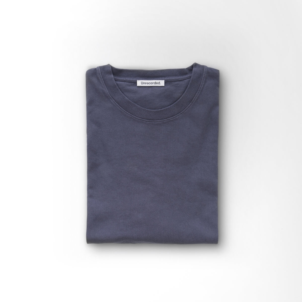 T-Shirt 220 GSM Washed Blue