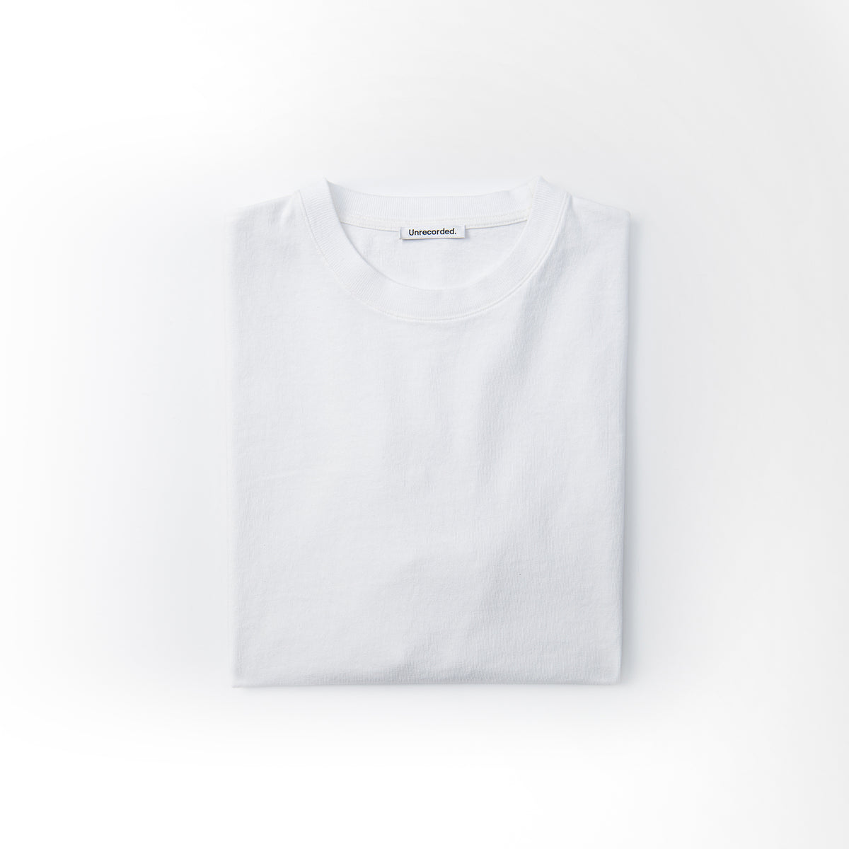 T-Shirt 220 GSM in White made from organic cotton - Alternate