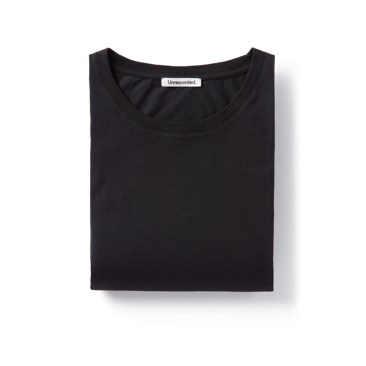 T-Shirt 155 GSM Black - Unrecorded