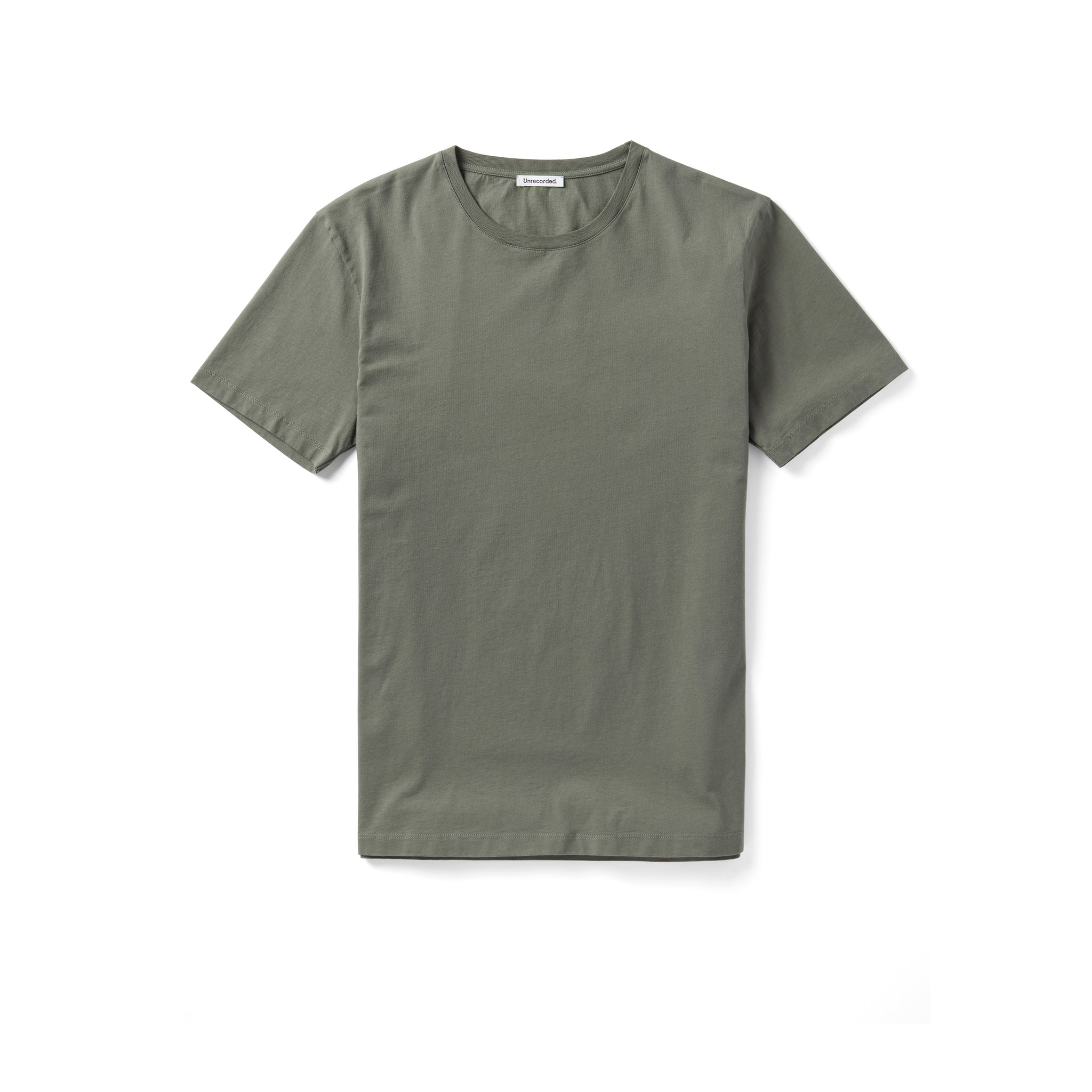 T-Shirt 155 GSM Green - Unrecorded - Front Men - Front Women