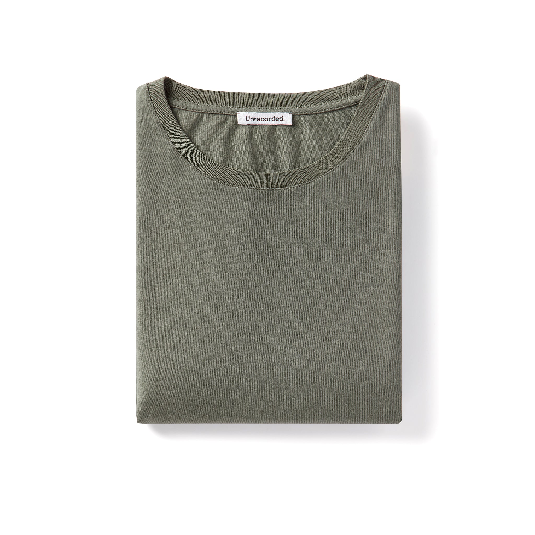 T-Shirt 155 GSM Green - Unrecorded - Alternate Women