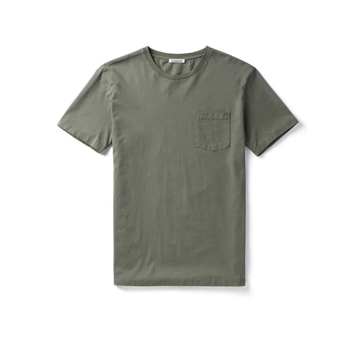 Pocket T-Shirt 155 GSM Green - Unrecorded