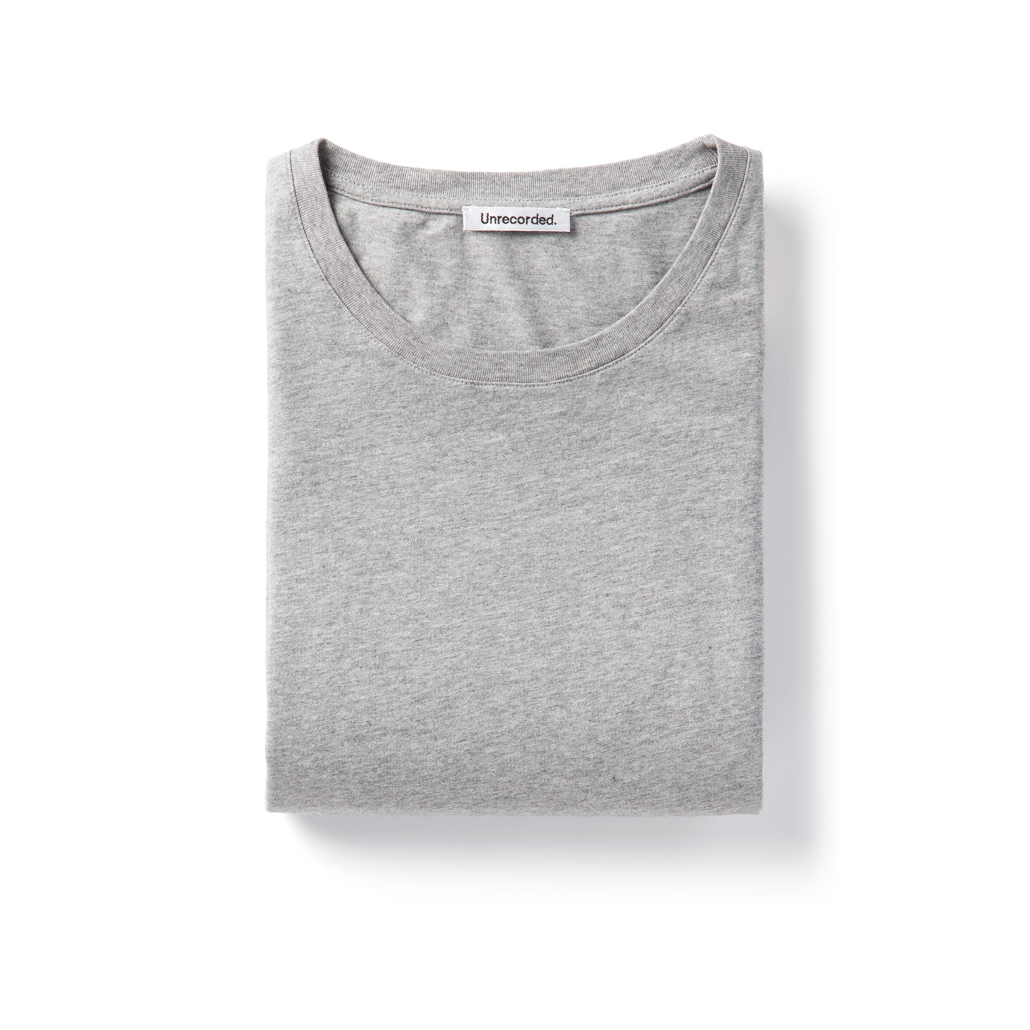 T-Shirt 155 GSM Grey - Unrecorded