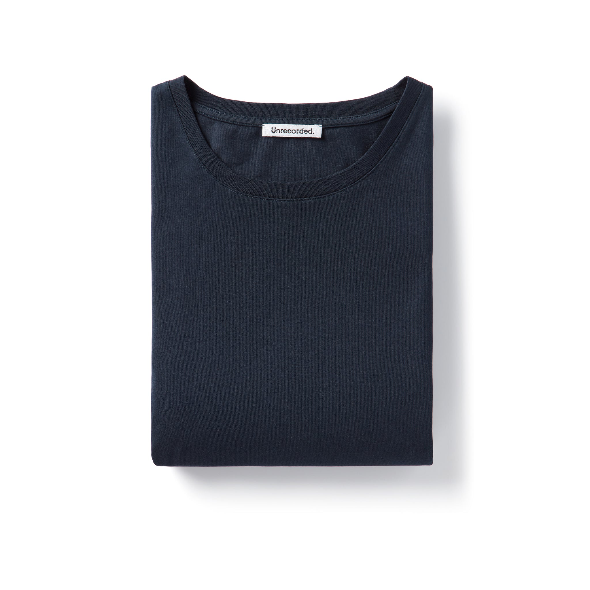 T-Shirt 155 GSM Navy - Unrecorded
