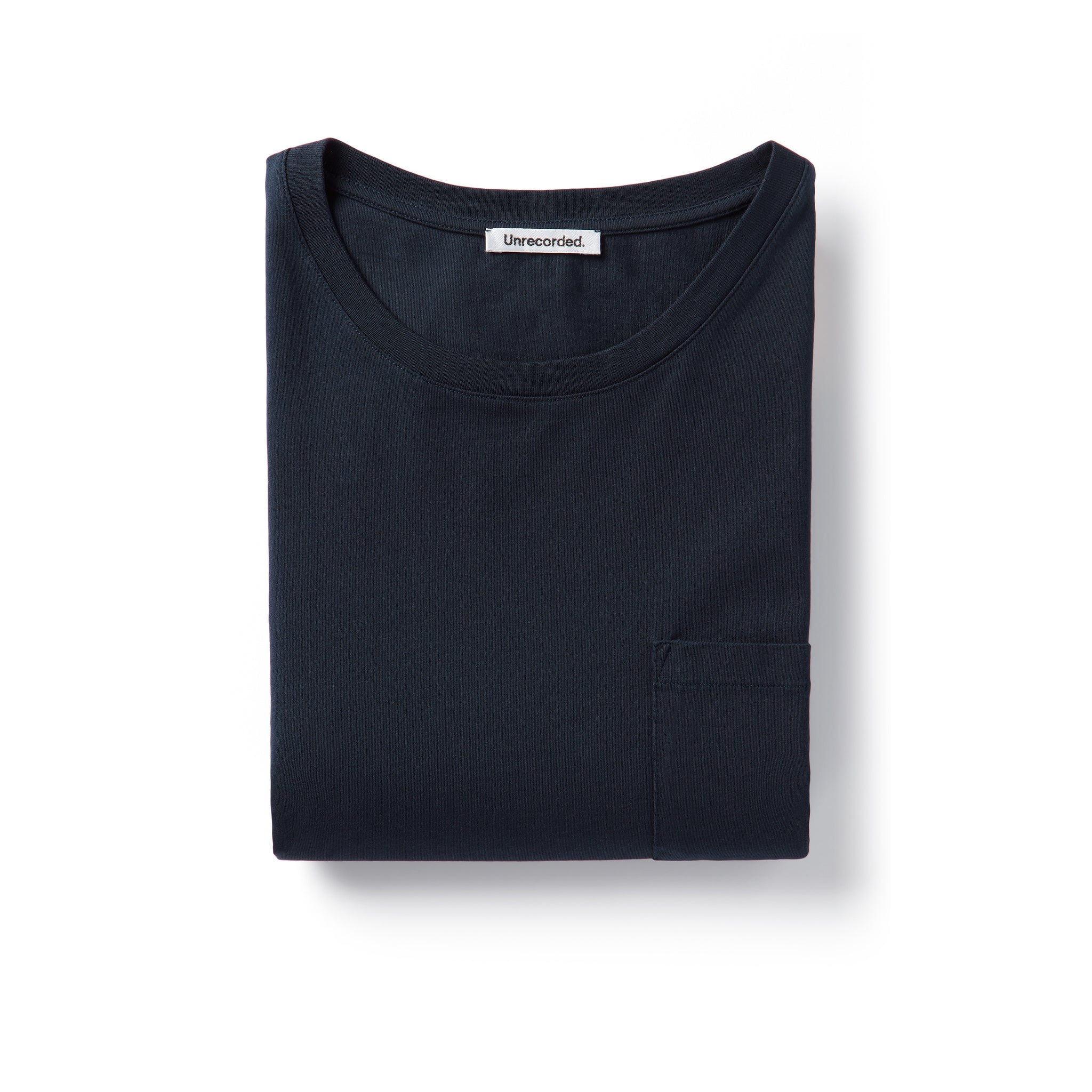 Pocket T-Shirt 155 GSM Navy