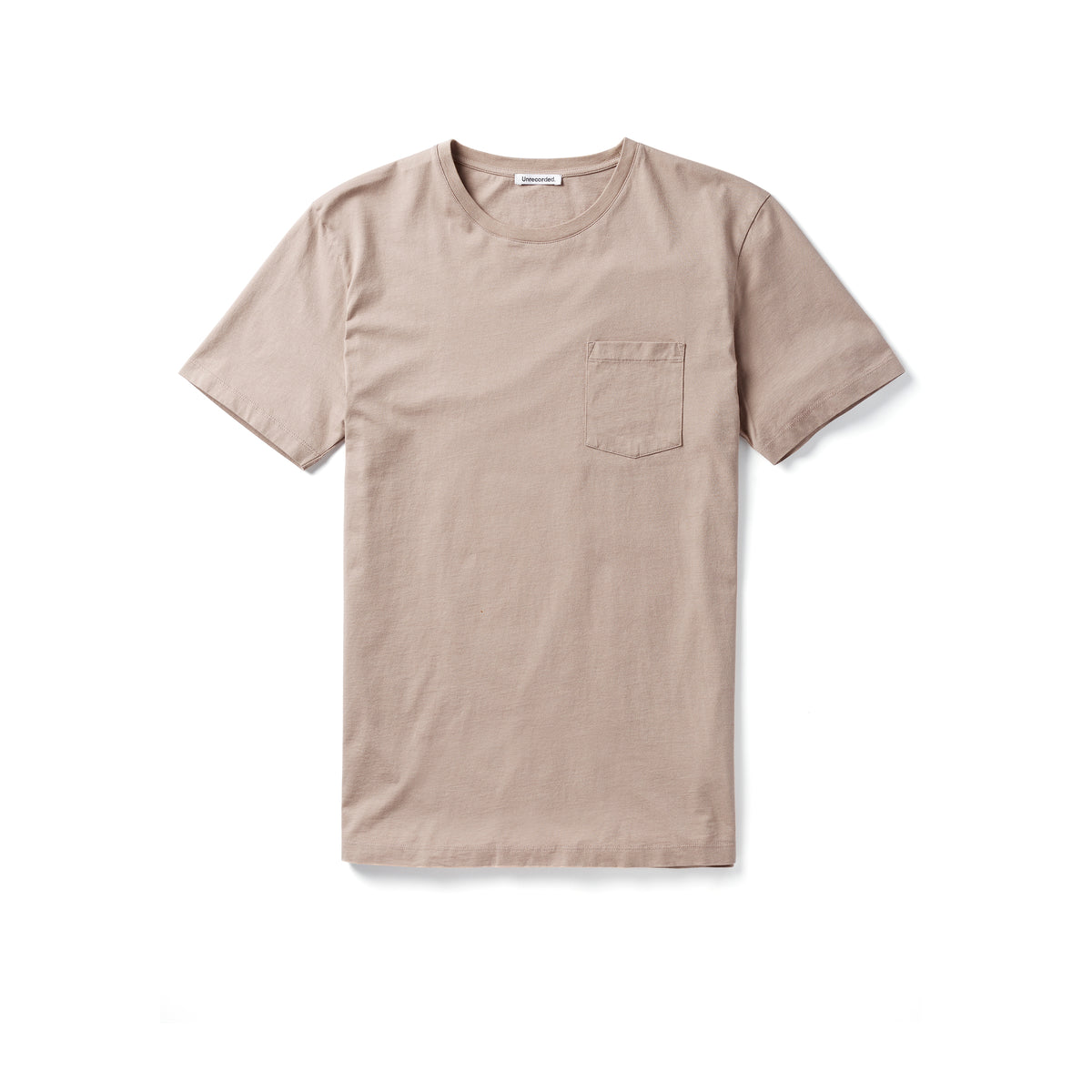 Pocket T-Shirt 155 GSM Sand - Unrecorded