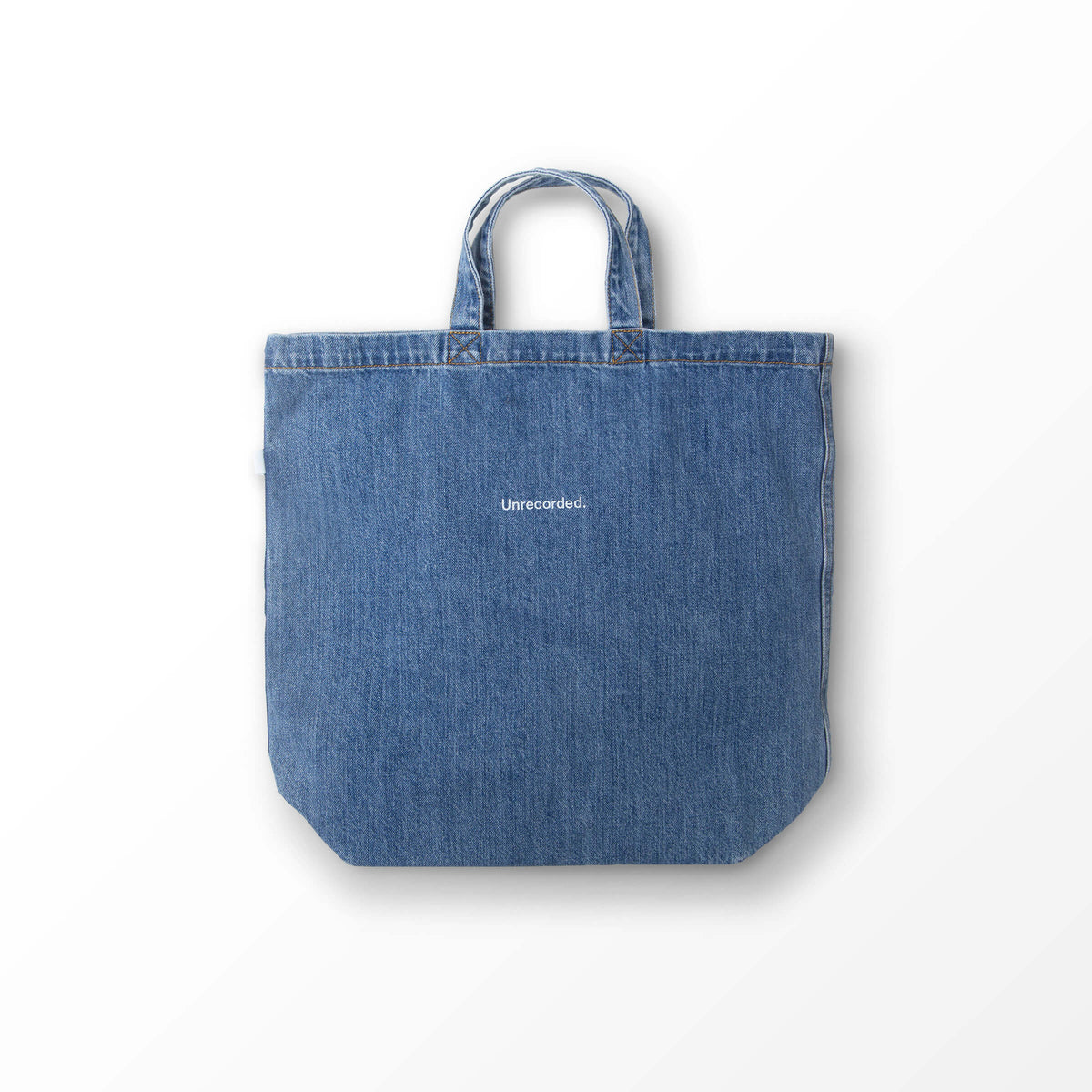 Denim Tote Bag - Unrecorded