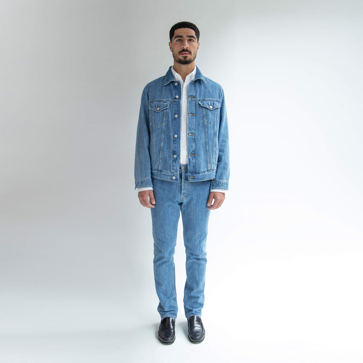 Trucker Jacket Denim - Unrecorded