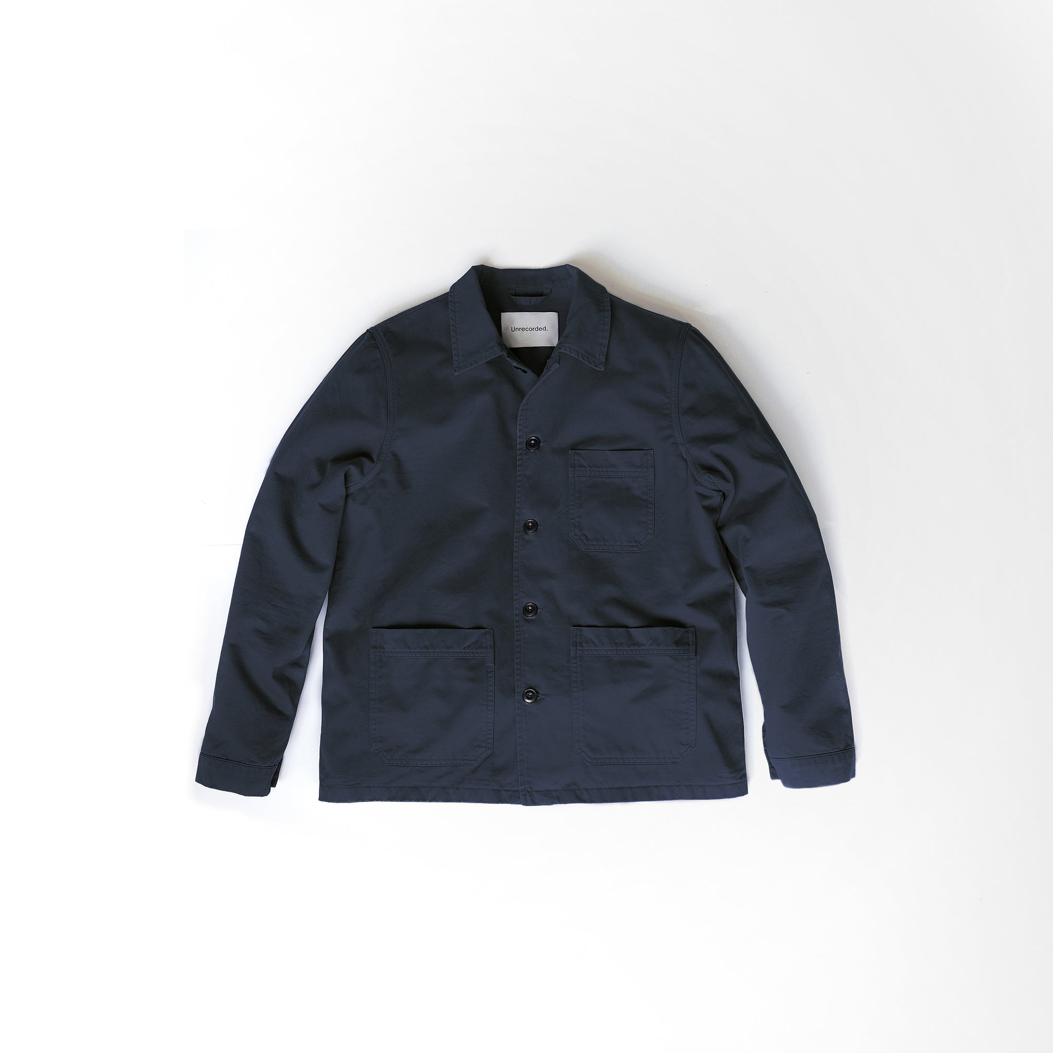 Worker Jacket Navy - Unrecorded