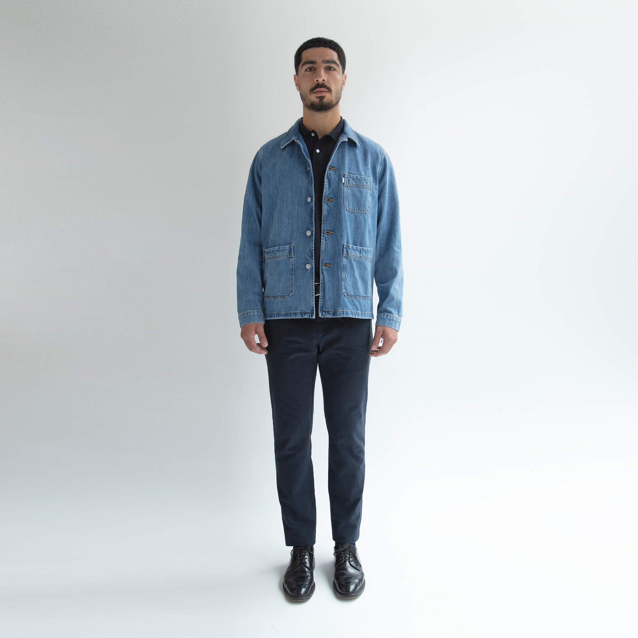 Worker Jacket Denim - Unrecorded