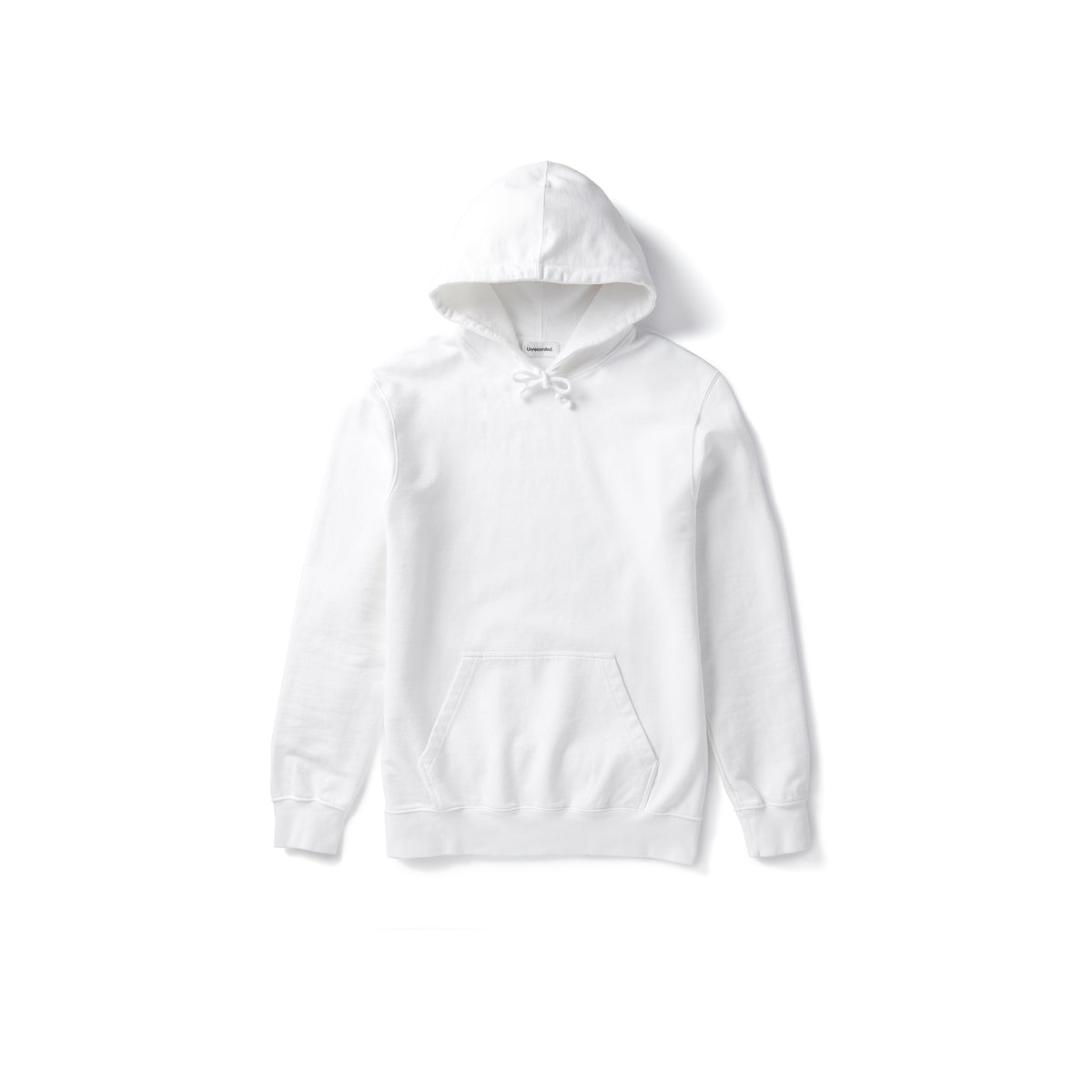 Hoodie White - Unrecorded