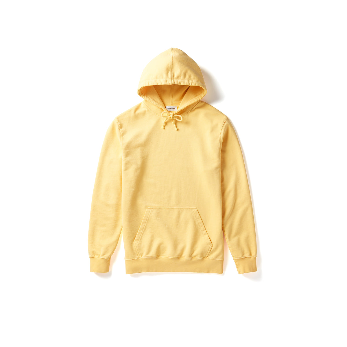 Hoodie Yellow - Unrecorded