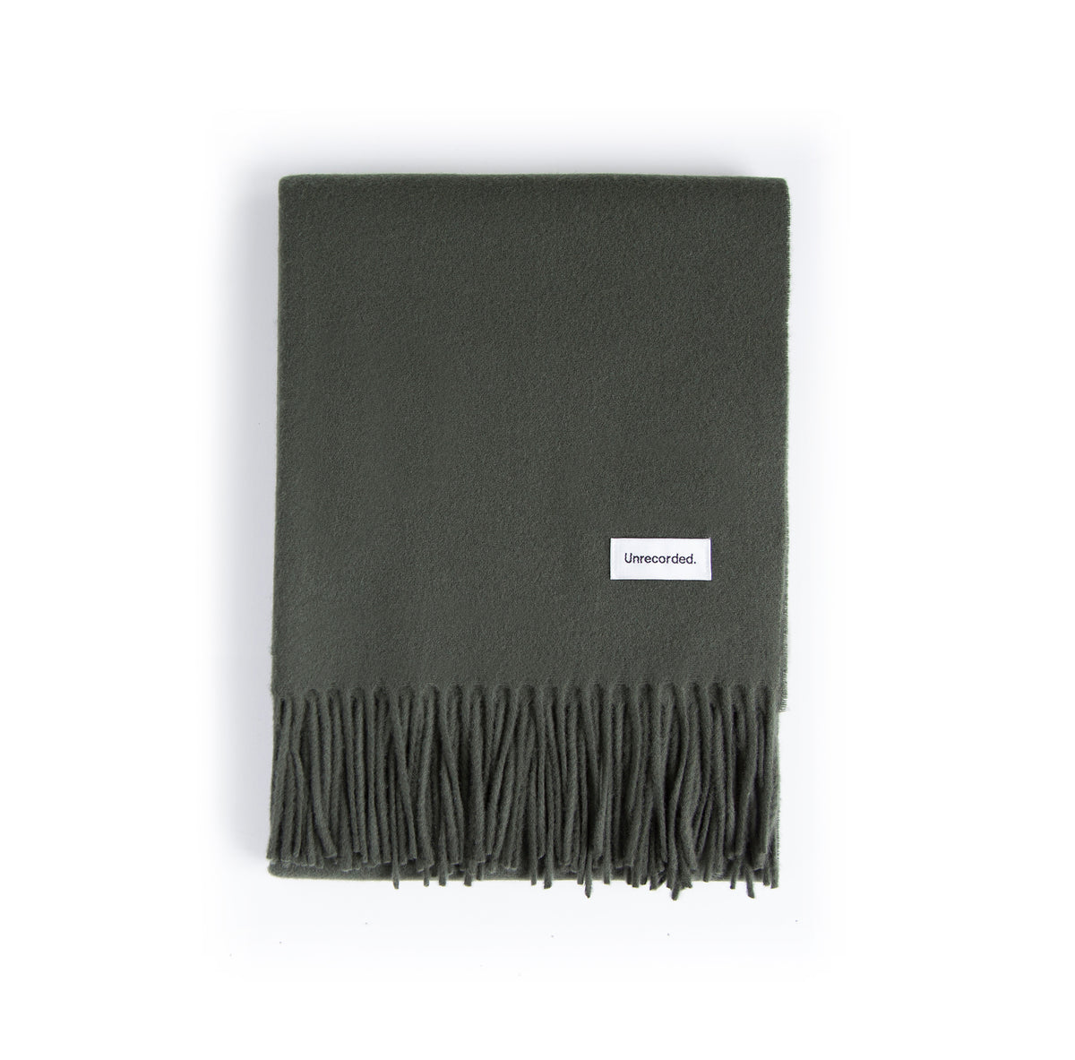 Wool Scarf Green