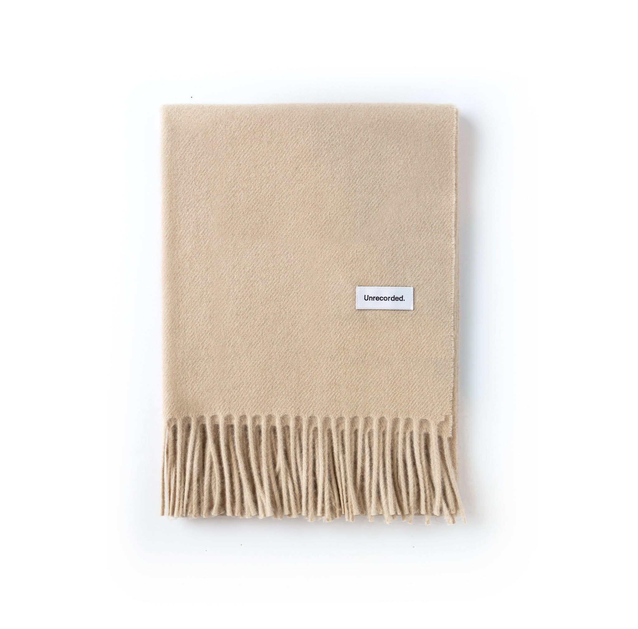 Wool Scarf Sand - Unrecorded