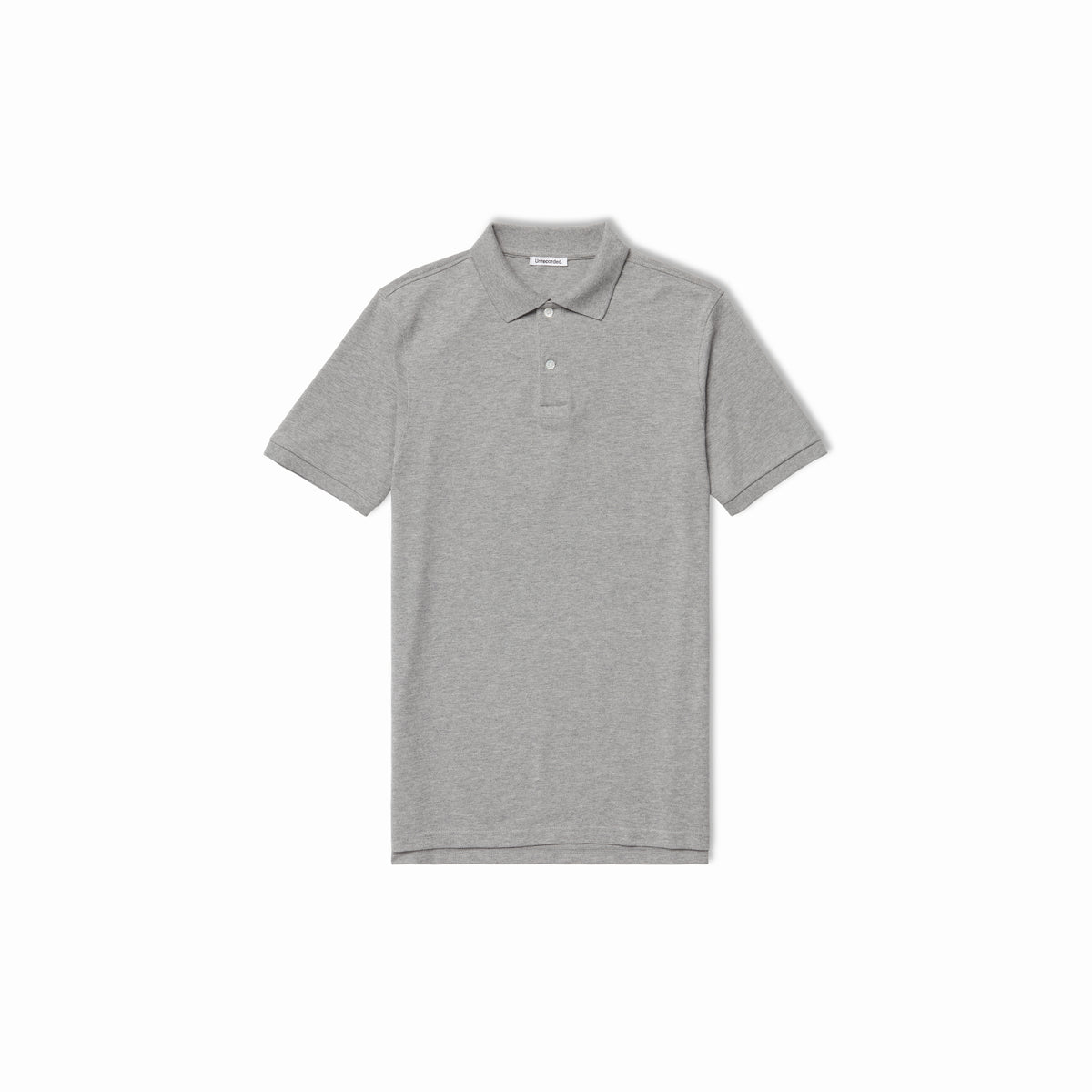 Pique Polo Grey - Unrecorded