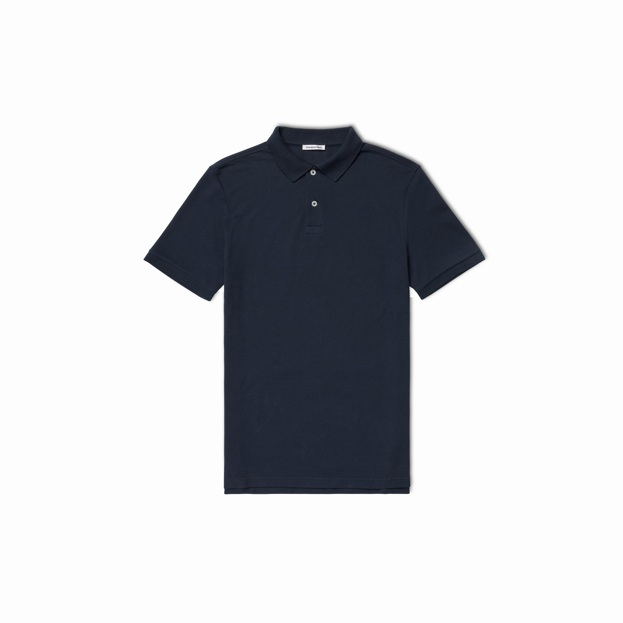 Pique Polo Navy from Unrecorded
