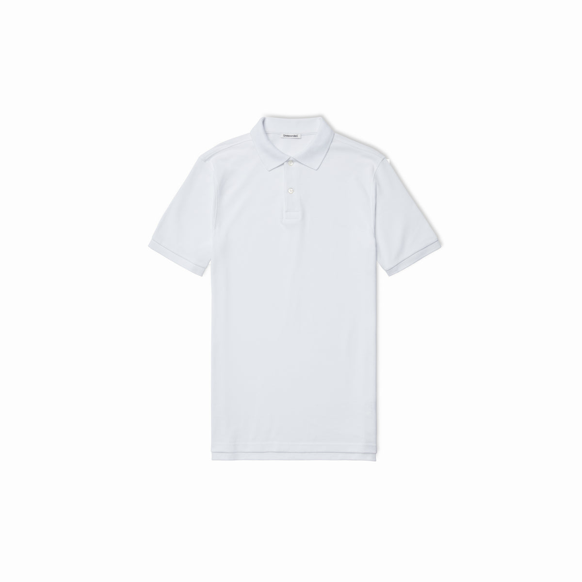 Pique Polo White - Unrecorded