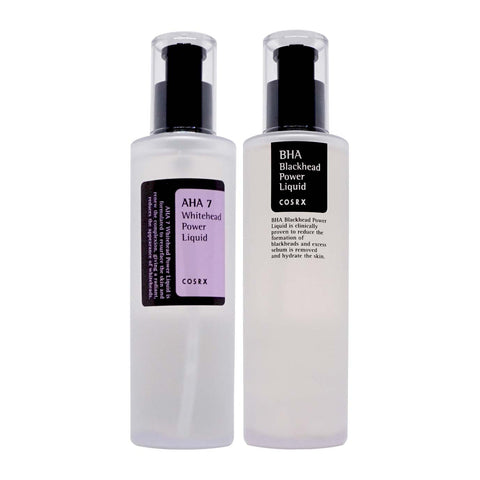 Cosrx AHA 7 & BHA Power Liquids Set for Blackheads and Whiteheads