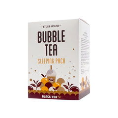 Etude House Black Tea Bubble Tea Sleeping Pack