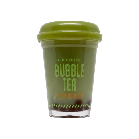 Etude House Green Tea Bubble Tea Sleeping Pack