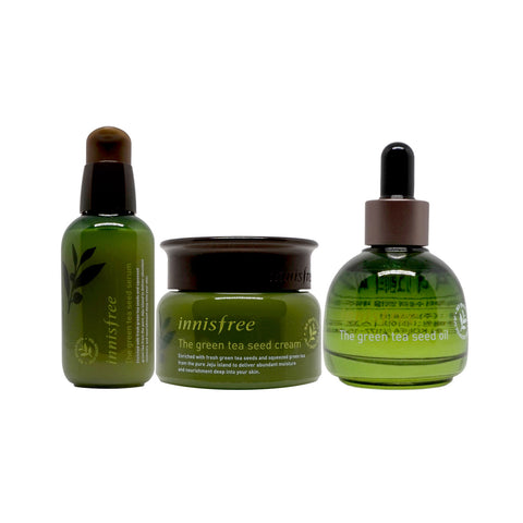 Best of Innisfree Green Tea Series Set (C$115 Value)