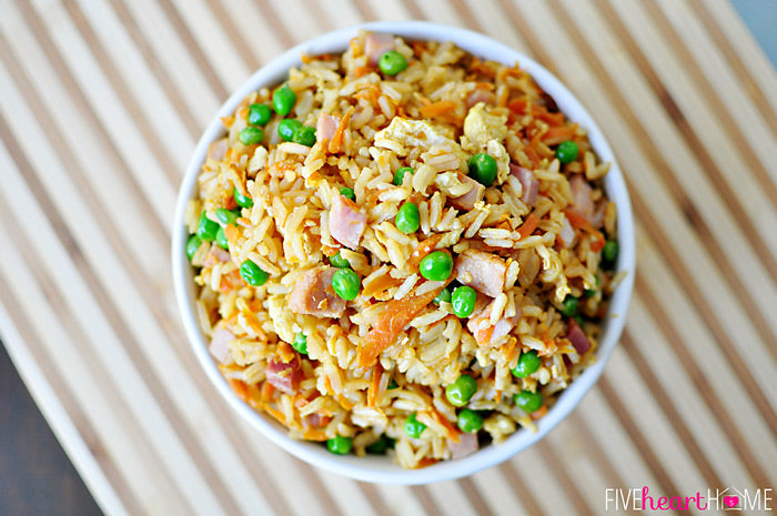 Fried Rice with Chicken and Vegetables