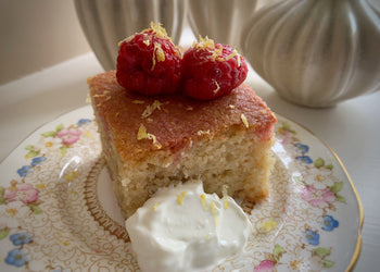 Sweet Spice Couscous Cake
