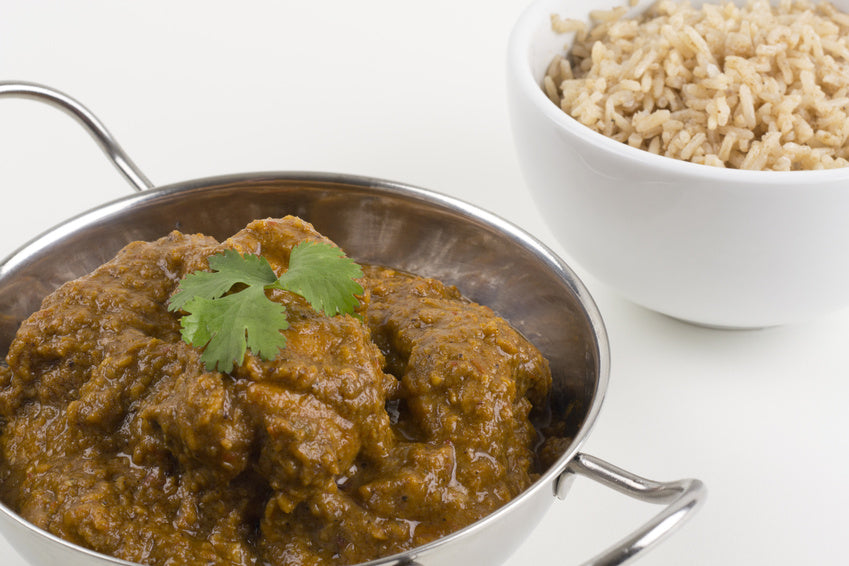 Slow Cooker Goan Beef Curry - Medium