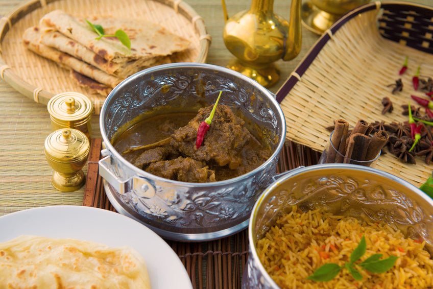 Need some menu inspiration for your next party? Indian Food is always a winner.