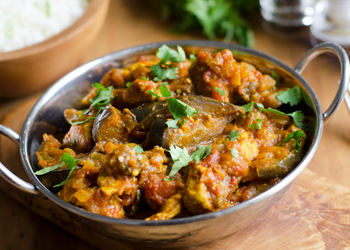 Roast Aubergine Curry