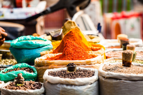 Nutritional information of spices and curry powders