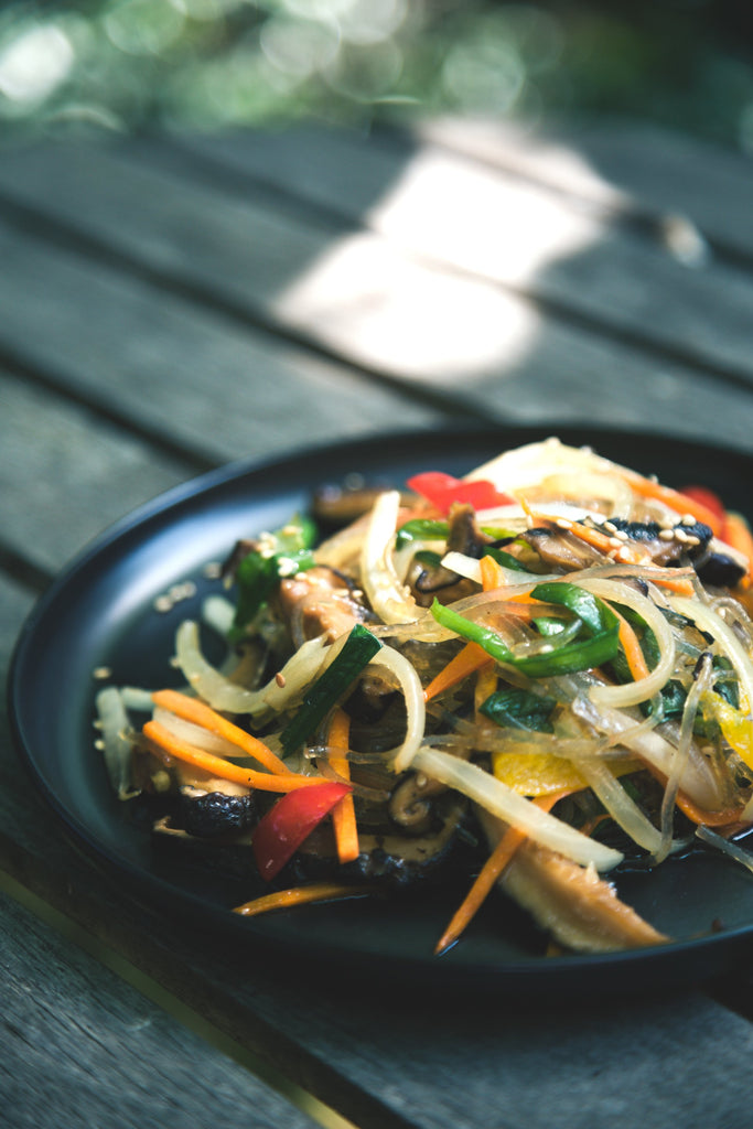 Thai Stir Fry with Satay Sauce