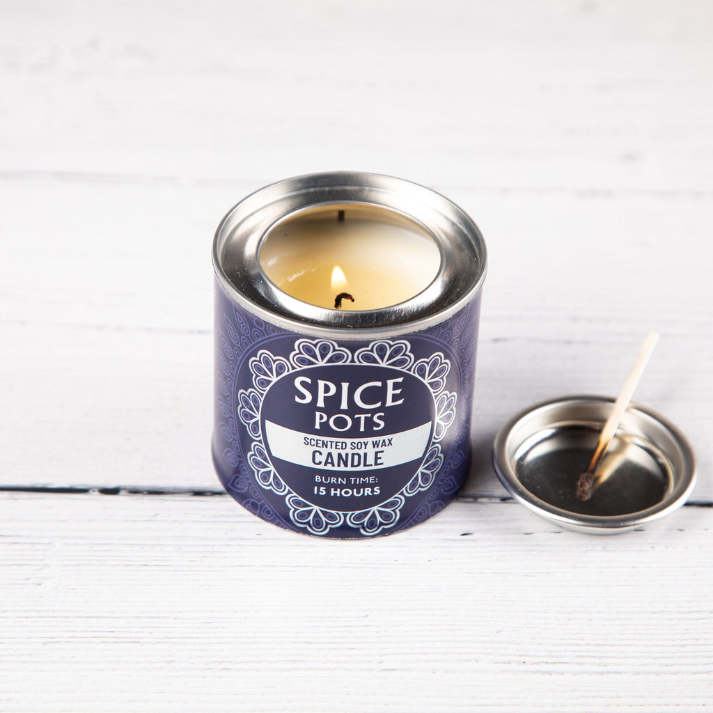 Cooks candle to get rid of cooking odours