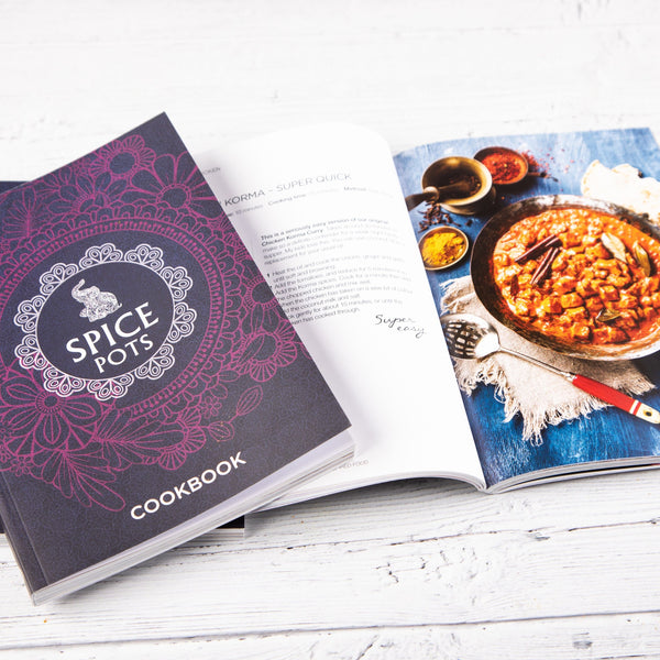 Indian Cookbook by Spice Pots