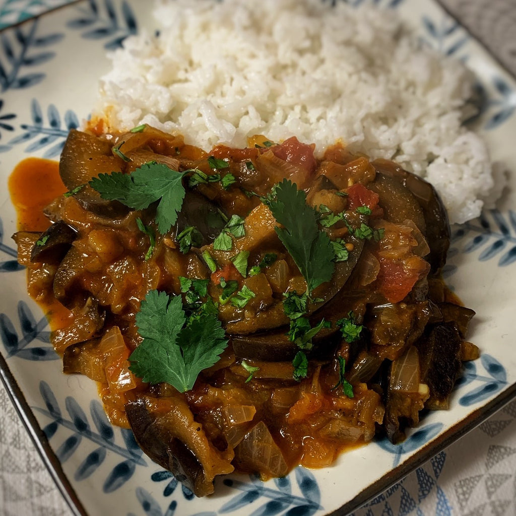 Vegan Aubergine Curry