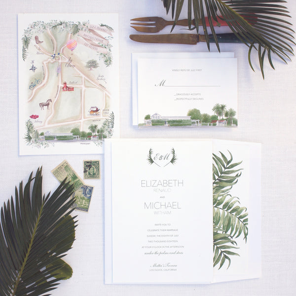 Matteis Tavern Wedding Invitation Suite