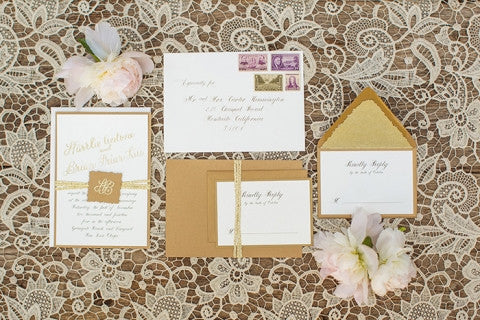 We were so excited to create the stationery for this gorgeous, romantic vintage winery wedding. The dreamy landscape of the vineyards of Paso Robles and San Luis Obispo have long been a destination for weddings. Stationery by @honeypaper |  Photography @mikelarson