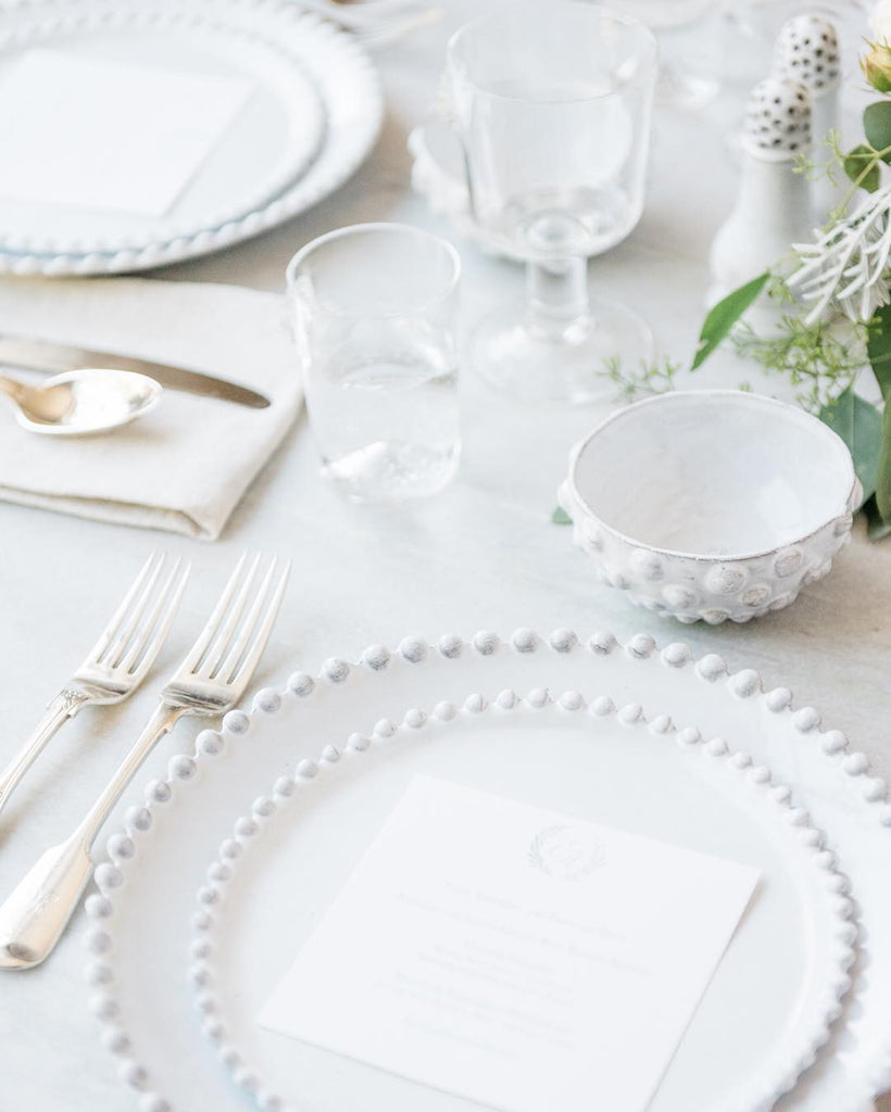 wedding menu by honey paper | photo Cara Robbins