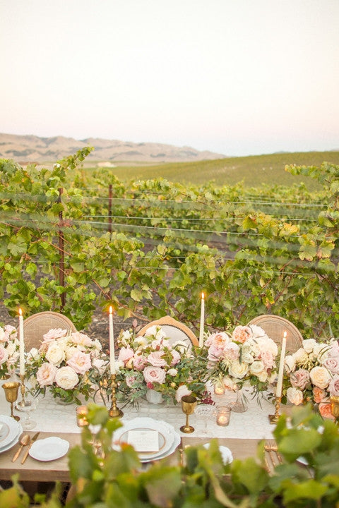 We were so excited to create the stationery for this gorgeous, romantic vintage winery wedding shoot. The dreamy landscape of the vineyards of Paso Robles and San Luis Obispo have long been a destination for weddings. Stationery by @honeypaper |  Photography @mikelarson