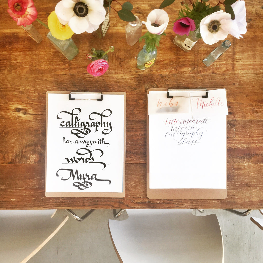 Honey Paper Calligraphy Workshop